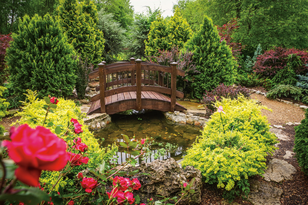 with more than 250 varieties on display the garden is one of only a few in the country to earn the designation of american hosta society national display - Botanical Garden Of The Ozarks